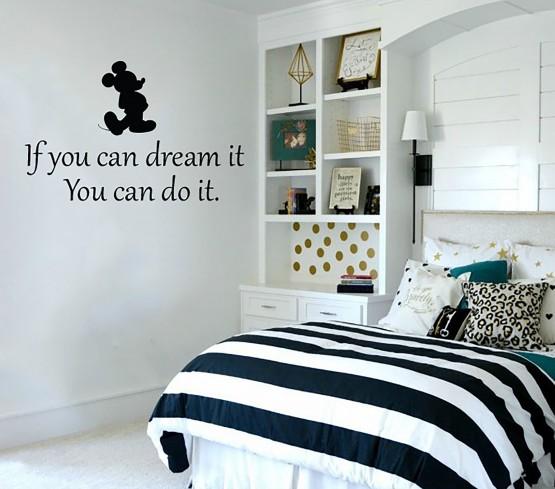 מדבקות קיר מעוצבות לחדר ילדים